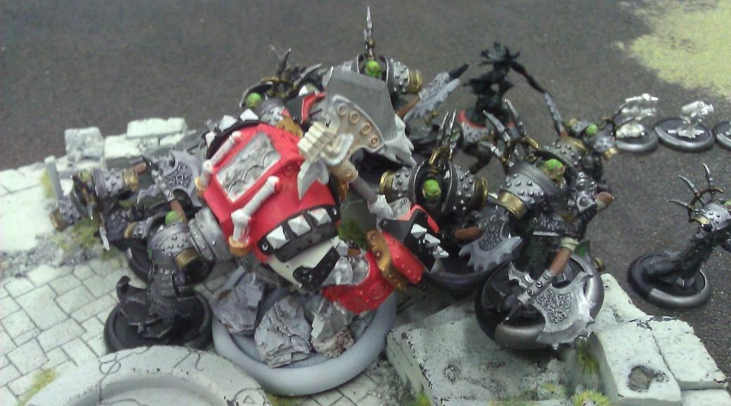 Beast-09 and his Bane Thrall buddies.